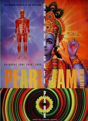 Pearl Jam 1995 BGP120 Poster