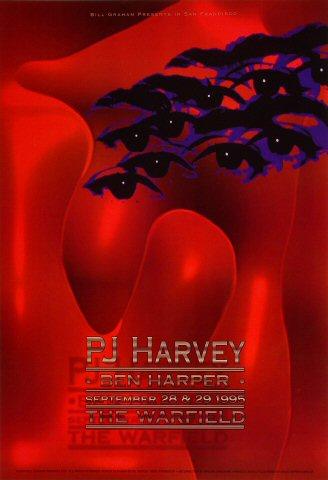 P.J. Harvey Bill Graham Presents BGP131 Poster