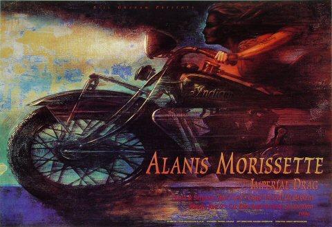 Alanis Morissette Bill Graham Presents Poster BGP146