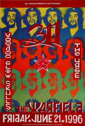 311 Bill Graham Presents Poster BGP148