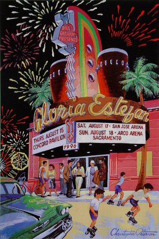 Gloria Estefan Bill Graham Presents BGP152 Poster
