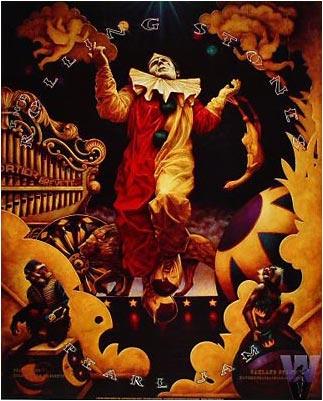 Rolling Stones Bill Graham Presents BGP180 Poster