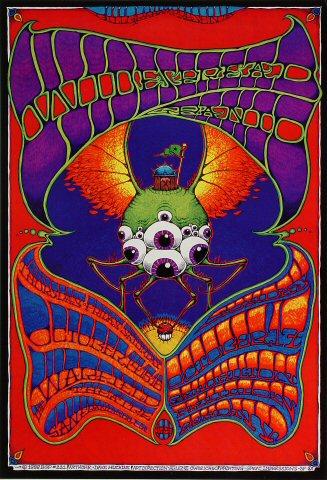Widespread Panic 1999 Warfield BGP221 Poster