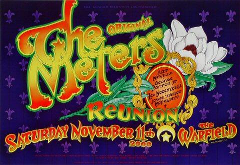 The Original Meters Reunion Bill Graham Presents BGP249 Poster