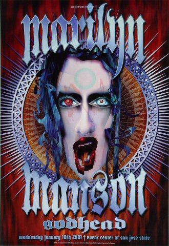 Marilyn Manson 2001 BGP253 Poster