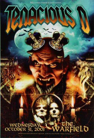 Tenacious D 2001 Warfield BGP272 Poster