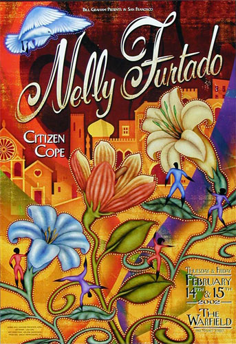 Nelly Furtado Bill Graham Presents BGP276 Poster