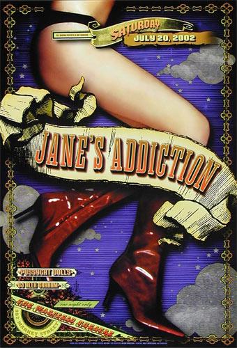 Jane's Addiction Bill Graham Presents Poster BGP285