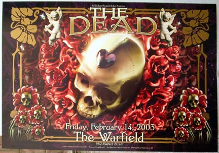 The Dead Bill Graham Presents Poster BGP297