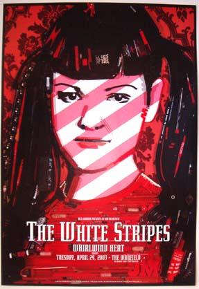 The White Stripes Bill Graham Presents BGP301 Poster