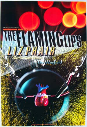 The Flaming Lips Bill Graham Presents BGP302 Poster