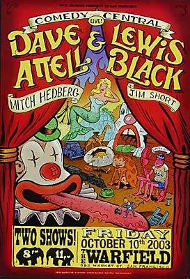 Comedy Central Bill Graham Presents BGP308 Poster