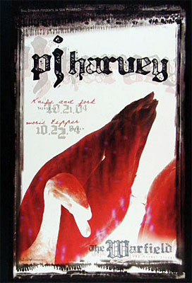 PJ Harvey Bill Graham Presents BGP326 Poster