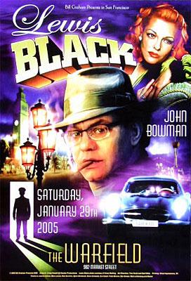 Lewis Black Bill Graham Presents Poster BGP328