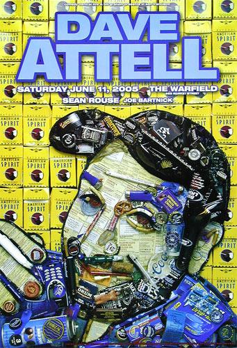 Dave Attell Bill Graham Presents BGP332 Poster