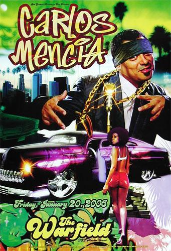 Carlos Mencia Bill Graham Presents BGP336 Poster
