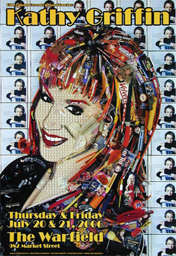 Kathy Griffin Bill Graham Presents BGP341 Poster