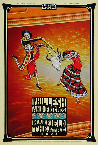 Phil Lesh and Friends Bill Graham Presents Poster BGP356