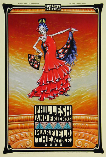 Phil Lesh and Friends Bill Graham Presents Poster BGP358