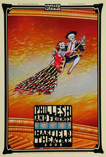 Phil Lesh and Friends Bill Graham Presents Poster BGP359