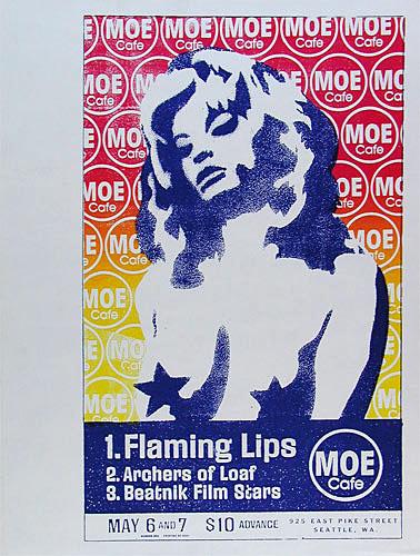 Modern Dog Flaming Lips Poster