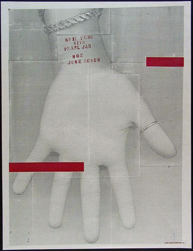 Nick Sherman Pearl Jam Poster