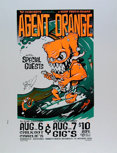 Splab Agent Orange Poster