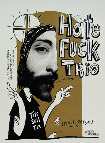 Hate Fuck Trio Poster