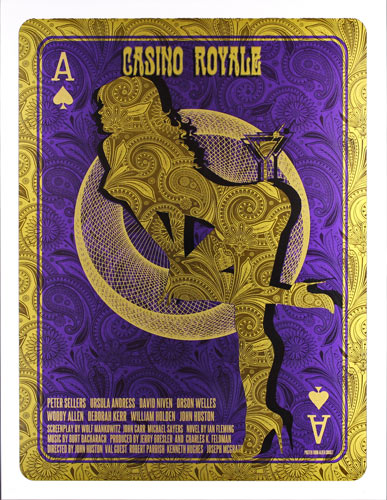 Alien Corset James Bond 007 - Casino Royale Movie Poster