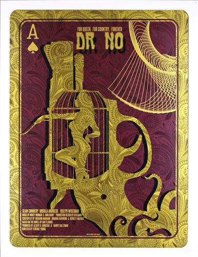 Alien Corset James Bond 007 - Dr. No Movie Poster