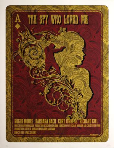 James Bond 007 - The Spy Who Loved Me Movie Poster