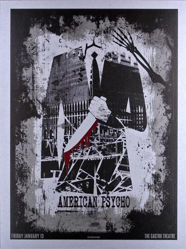 Alien Corset - David O'Daniel American Psycho Movie Poster