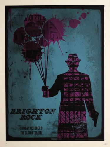 Alien Corset Brighton Rock Movie Poster