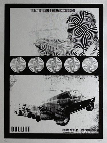 Alien Corset Steve McQueen Bullitt Movie Poster