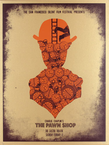 Alien Corset - David O'Daniel Charlie Chaplin - The Pawn Shop Movie Poster