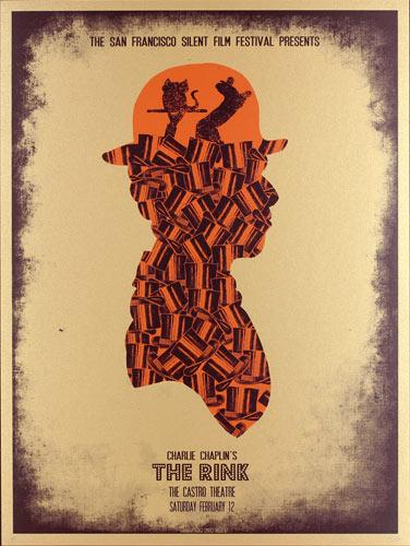 Alien Corset - David O'Daniel Charlie Chaplin - The Rink Movie Poster