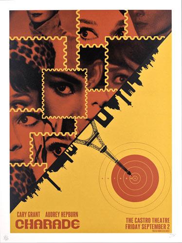 Alien Corset - David O'Daniel Charade Audrey Hepburn Movie Poster