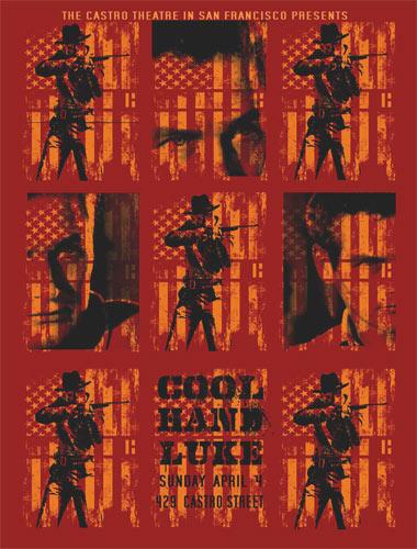 Alien Corset - David O'Daniel Paul Newman Cool Hand Luke Movie Poster