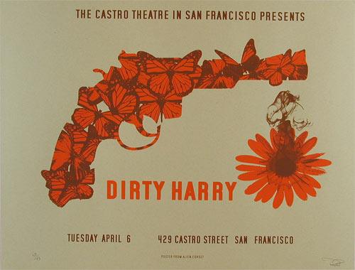 Alien Corset - David O'Daniel Dirty Harry Clint Eastwood Movie Poster
