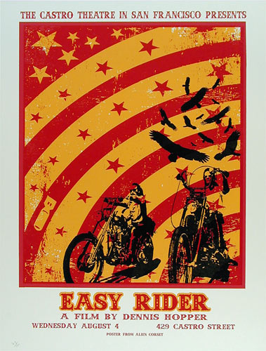 Easy Rider Dennis Hopper Movie Easy Rider Movie Poster