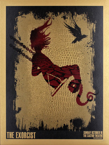 Alien Corset - David O'Daniel The Exorcist Movie Poster