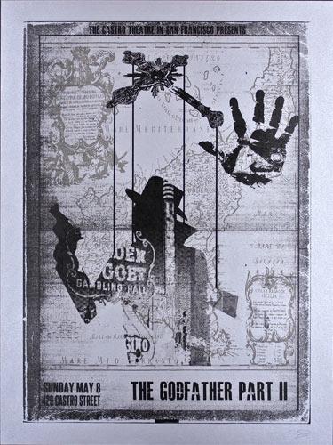 Alien Corset The Godfather Part II Movie Poster