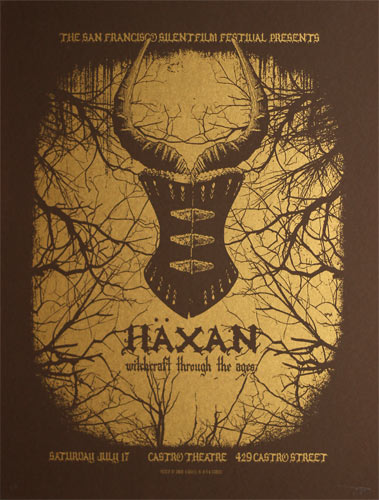 Haxan Witchcraft Through The Ages Movie Poster