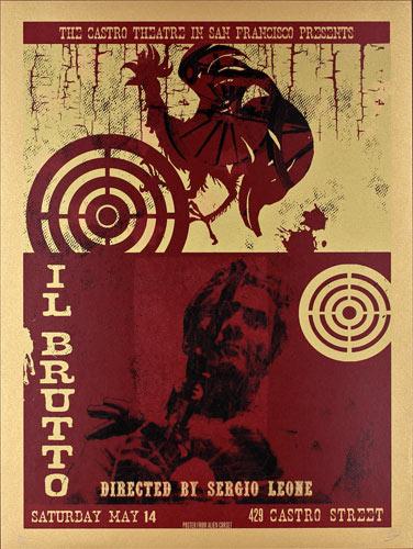 Alien Corset - David O'Daniel The Good, the Bad and the Ugly (Il Buono, Il Brutto, Il Cattivo) Movie Poster