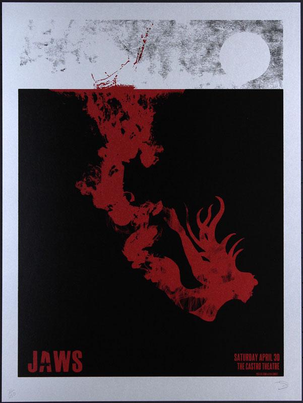Alien Corset - David O'Daniel Jaws Movie Poster