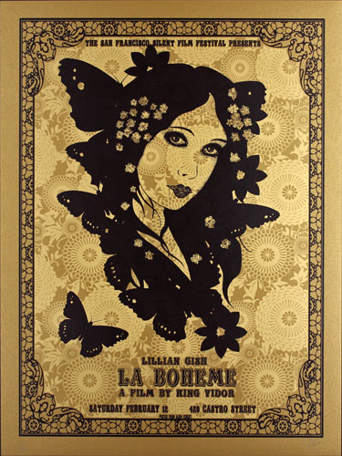 Alien Corset La Boheme Movie Poster