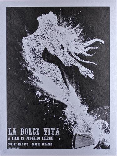 Alien Corset - David O'Daniel La Dolce Vita Movie Poster