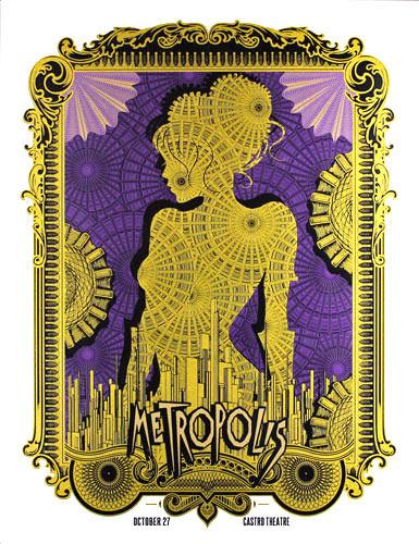 Alien Corset - David O'Daniel Metropolis Movie Poster