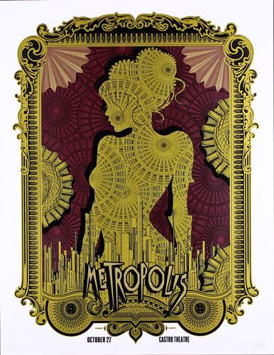 Alien Corset Metropolis Movie Poster