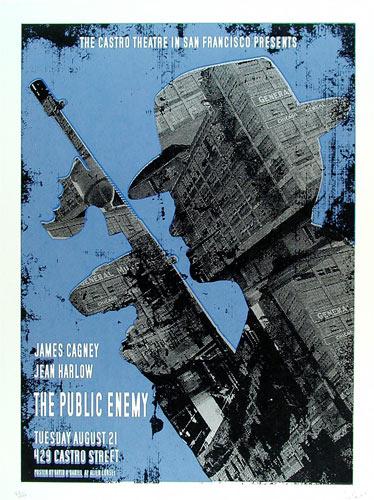 Alien Corset - David O'Daniel The Public Enemy James Cagney Movie Poster